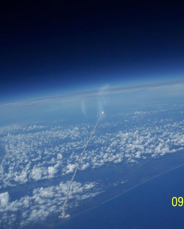 shuttle launch from space station - photo #1